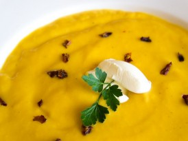 Hearty squash soup