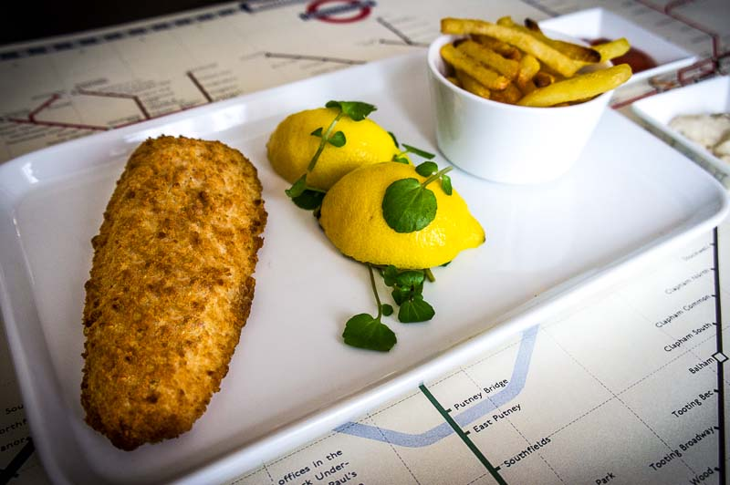 Fish & Chips with a twist!