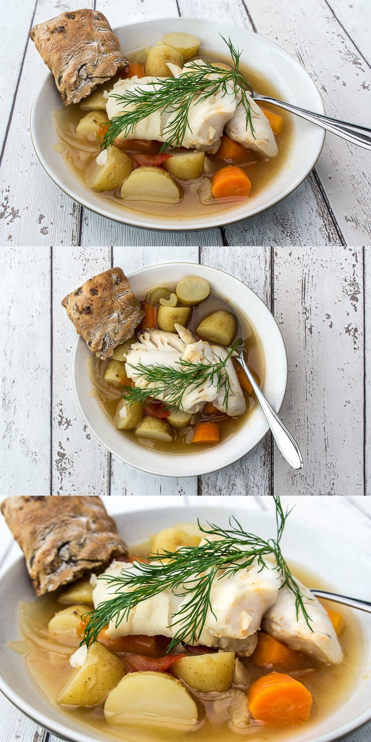 Greek fish stew