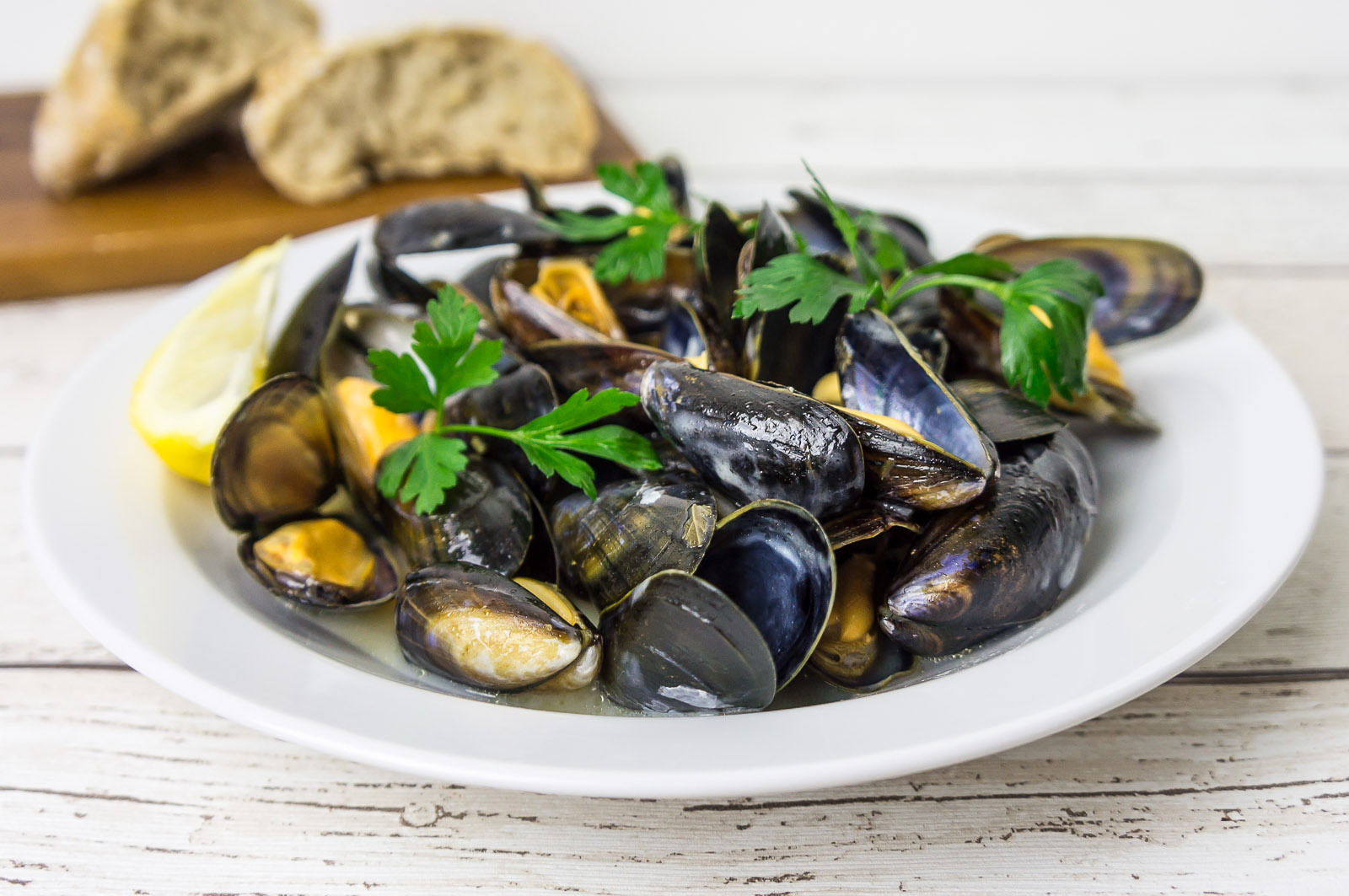 Mussels in white wine - recipe - Daily Gourmet