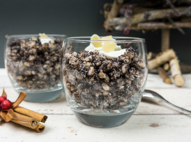 Poppy seeds pudding