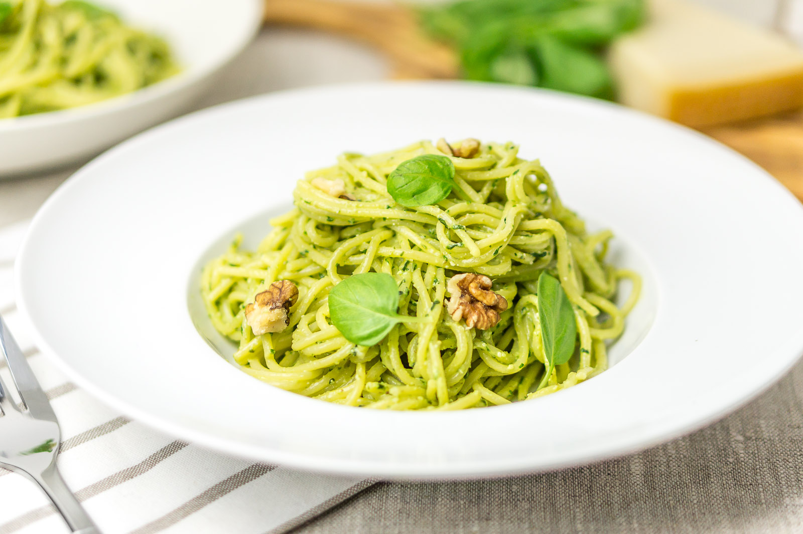 Pesto spaghetti - recipe - Daily Gourmet
